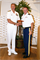Naval Facilities Engineering Command (NAVFAC) Pacific Capt. Bret J. Muilenburg (left), U.S. Pacific Fleet staff, receives an appreciation gift for his contributions to the Society of American Military Engineers (SAME) Honolulu Post from U.S. Army Col. Gregory J. Gunter, U.S. Army Corps of Engineer Pacific Ocean Division commander and SAME Honolulu Post president during its 2013 Pacific Industry Forum at the Ala Moana Hotel May 8. The SAME unites architecture, engineering, construction, facility management, and environmental entities and individuals in the public and private sectors to prepare for and overcome natural and man-made disasters, and to improve security at home and abroad.
